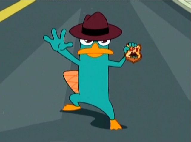 Cute Perry the Platypus