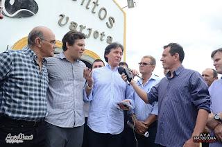 PMDB realiza encontro regional em Varjota - Por Thiago Rodrigues / Santa Quitéria