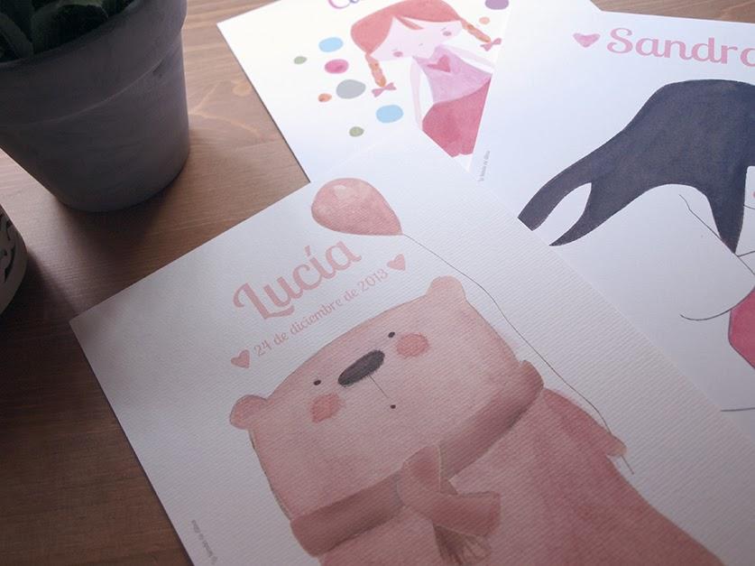 art print personalizado bebé