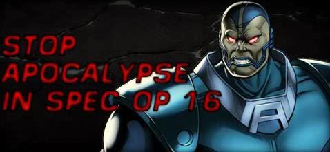 Spec ops 16 Mission info