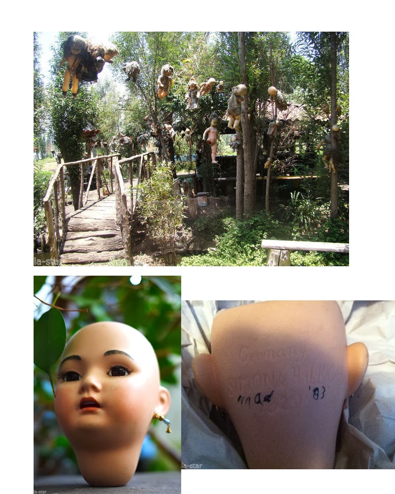 """ls land 07 Known as """"La Isla de la Munecas"""", by the Spanish, The Island of the Haunted Dolls is perhaps the creepiest tourist attraction in Mexico."""