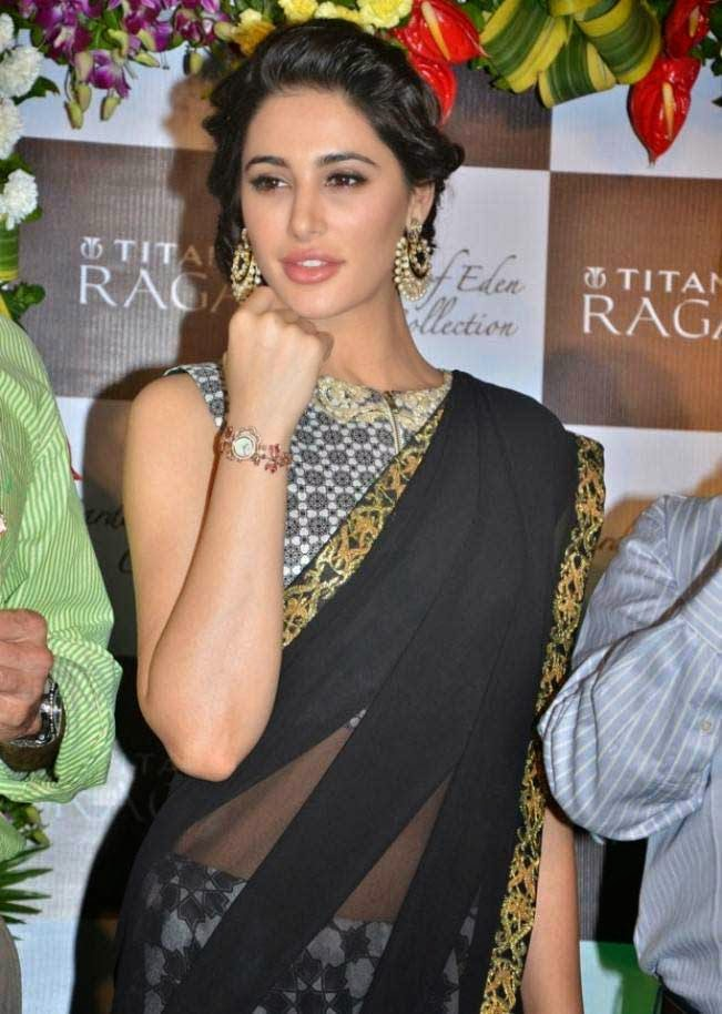 Nargis Fakhri at Titan Raga's 'Garden of Eden' launch