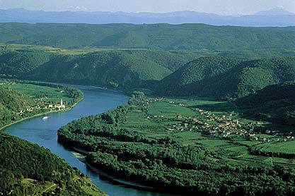Where is the source of the river Danube?