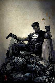 The Punisher #1 - Maleev Variant
