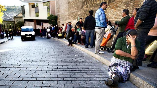 pobreza, España,