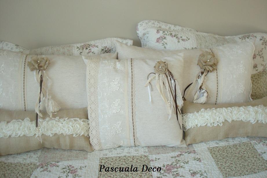 Pascuala deco almohadones rom nticos - Almohadones para decorar sillones ...