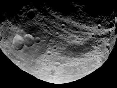 Dark Side of Vesta
