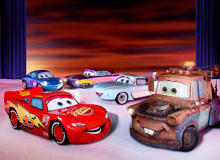 Lightning McQueen, Disney, ice skating
