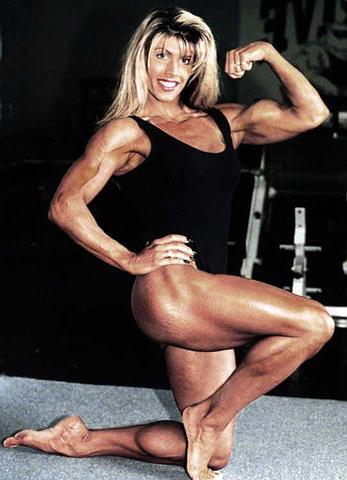 Sexy bodybuilder women