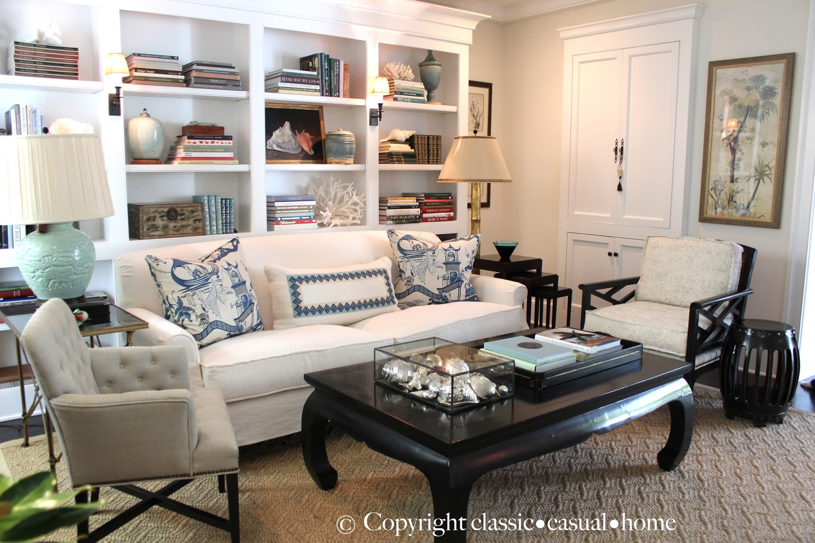Pottery Barn For Living Room Classic O Casual O Home July 2014