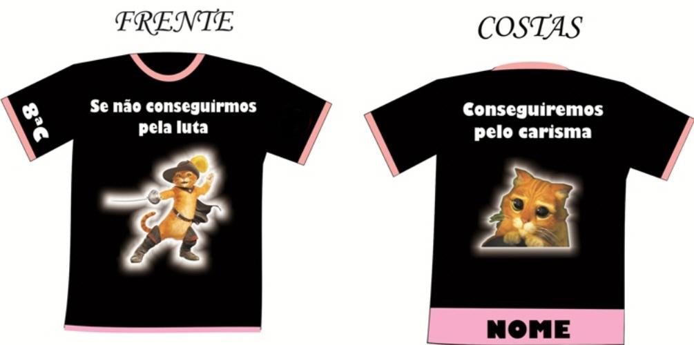 Frases para camiseta de formatura de 8ª série e 3º colegial