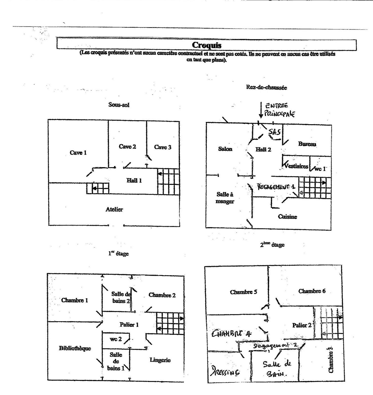 Maison vendre l 39 interieur de la maison for L interieur de la maison
