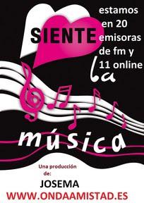 """PROGRAMA :""""SIENTE LA MUSICA ..CON JOSEMA """""""