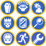 My GM Merit Badges