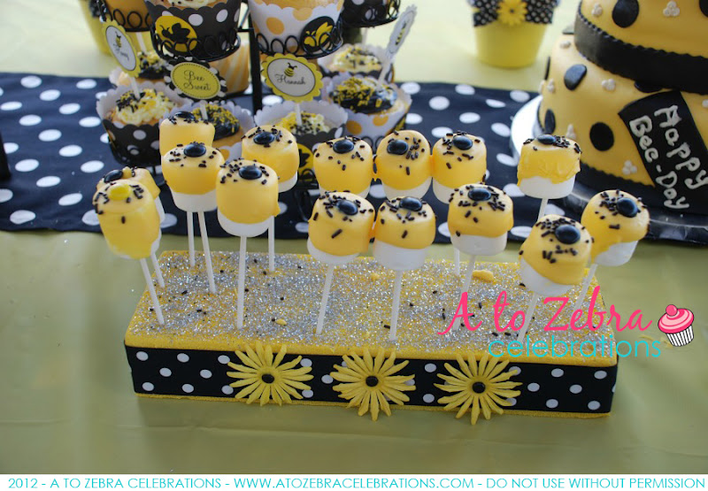 Bee SWEETS Table A To Zebra Celebrations