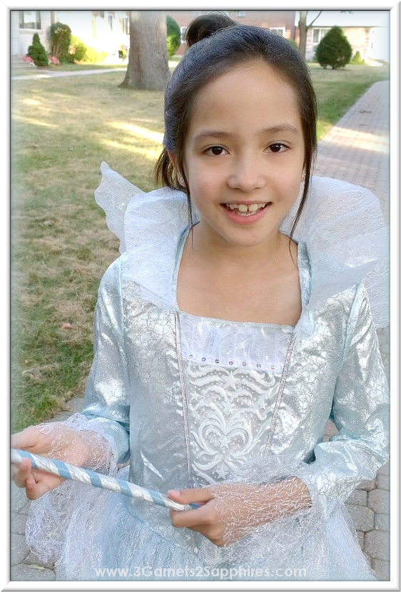 Disney Cinderella Movie Deluxe Fairy Godmother Costume for Girls | www.3Garnets2Sapphires.com