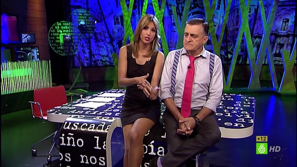 SANDRA SABATES, EL INTERMEDIO (08.10.13)