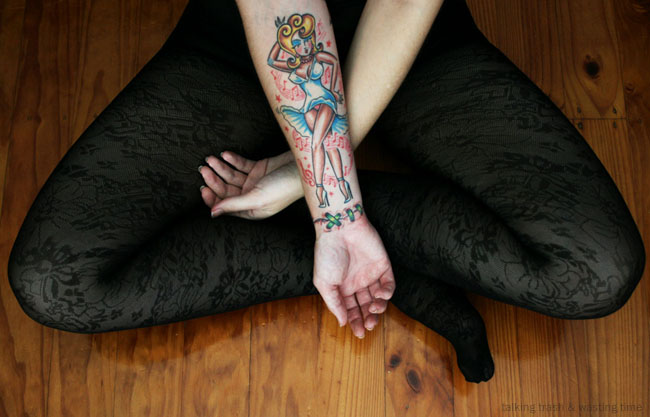 The Exciting Pin Up Girls Tattoo Designs Image