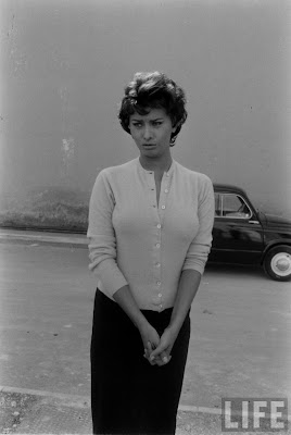 Film Noir Photos: Sweater Girl: Sophia Loren