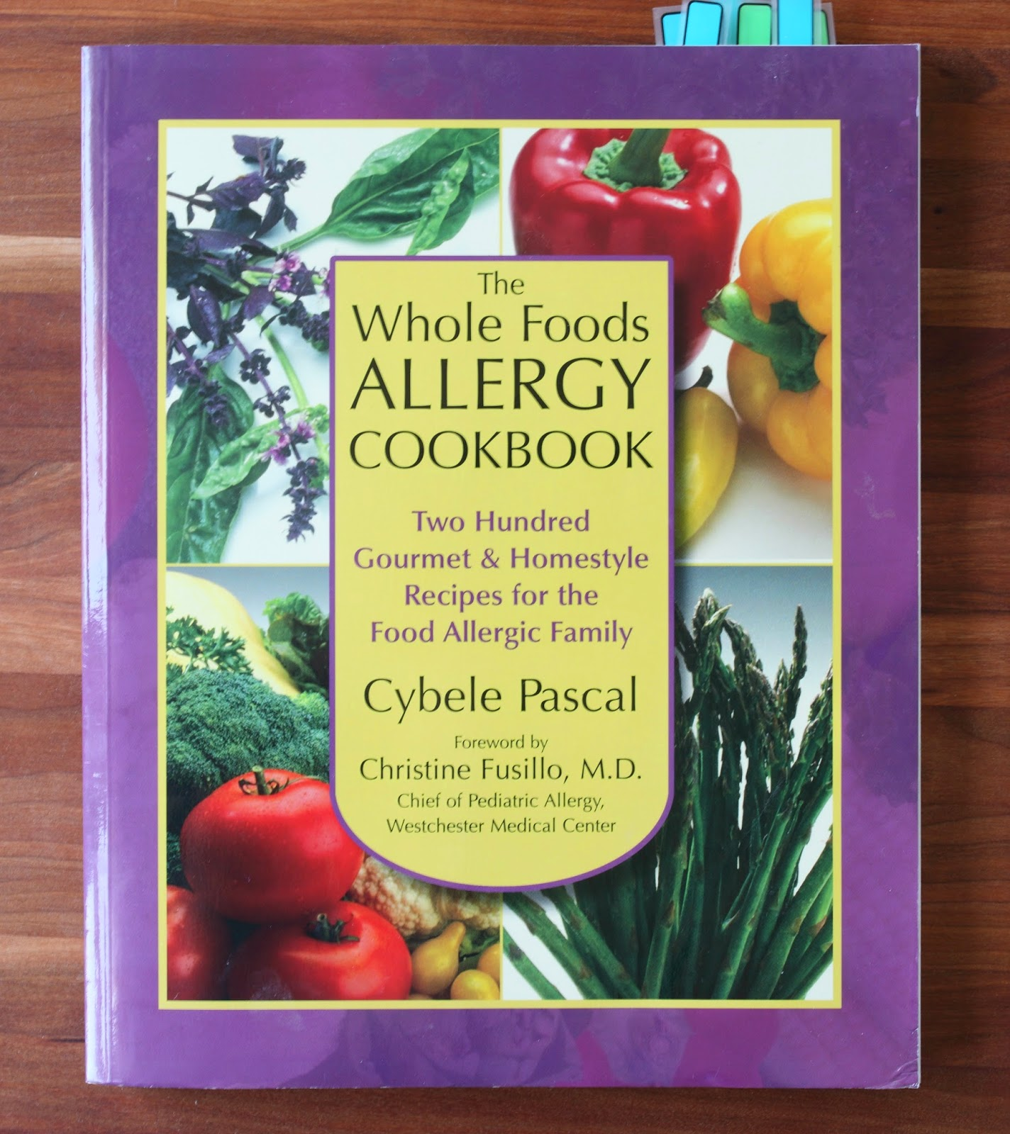 Learning to eat allergy free the whole foods allergy cookbook can you tell that the pages of this book are dog eared theres a reason for that of all the food allergy cookbooks i own the whole foods allergy cookbook forumfinder Image collections