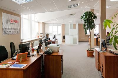 Новый офис Screen Interactive