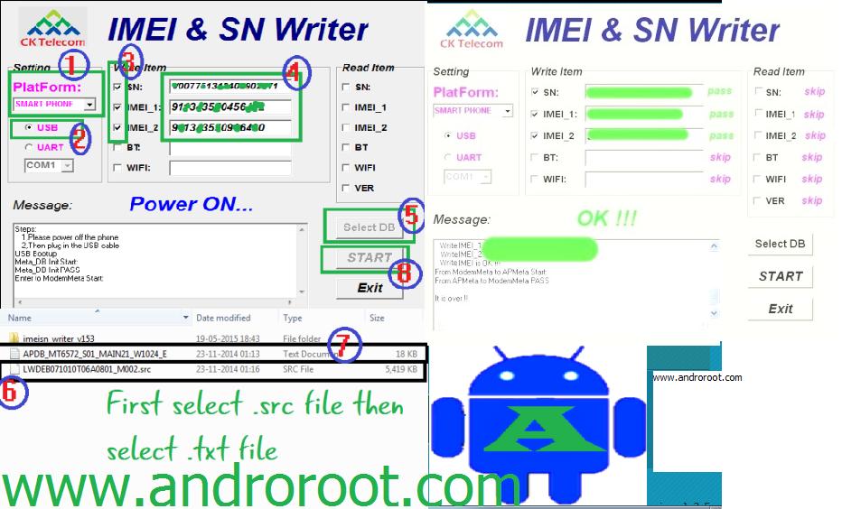 Sn write tool