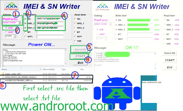 solve invalid IMEI and sn Problem in any Android SmartPhone