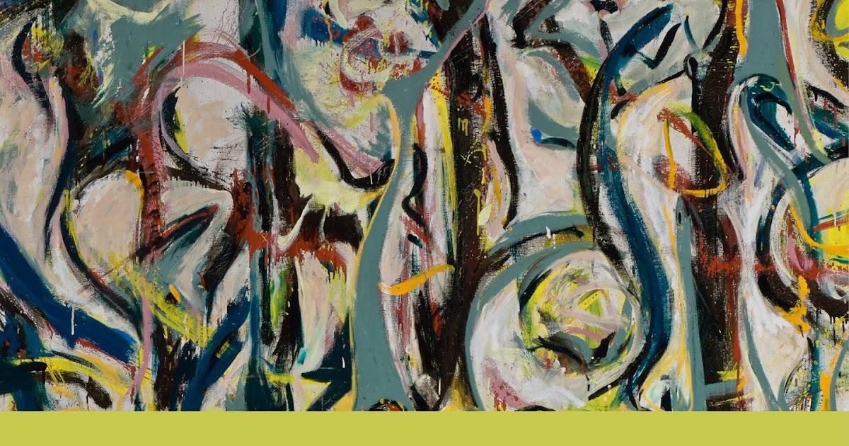 The arts by karena jackson pollock 39 s mural energy made for Mural jackson pollock