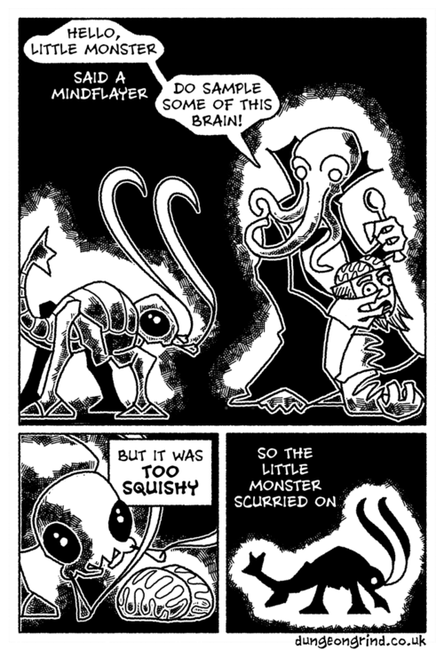Dungeon Grind Little Monsters Comic