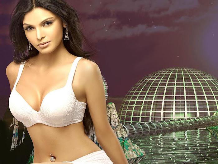 sherlyn chopra bikini cute stills