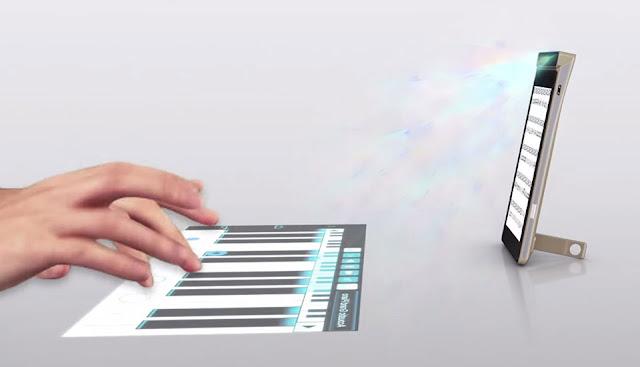 Lenovo Smart Cast resmi di umumkan, dibekali projector virtual touchscreen