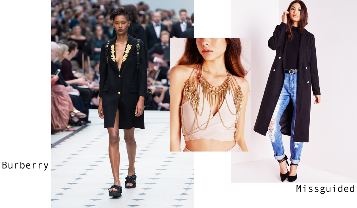 Burberry London Fashion Week Trend - Missguided