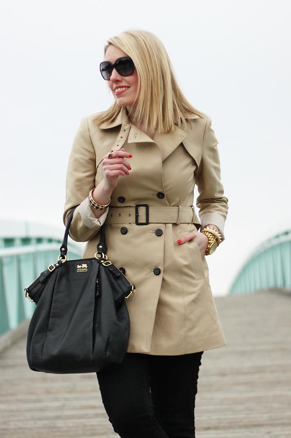 Tan Trench Coat Zara