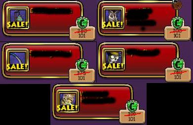 wizard101 crown shop sales