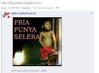 kumpulan gambar untuk berkomentar di facebook