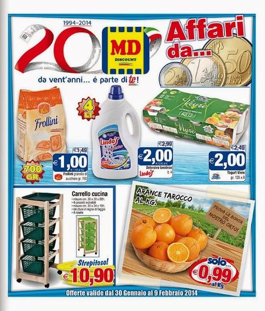 volantino - MD Discount Offerte dal 30 Gennaio al 9 Febbraio 2014 ...