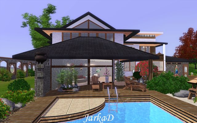 My Sims 3 Blog Japanese House By Jarkad