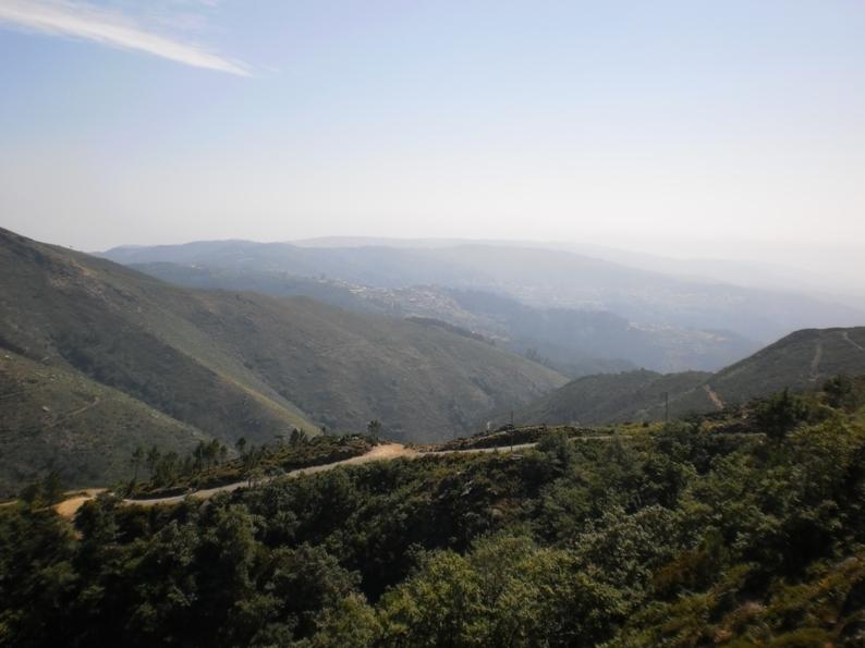 Vista da Serra da Freita virada para Sul