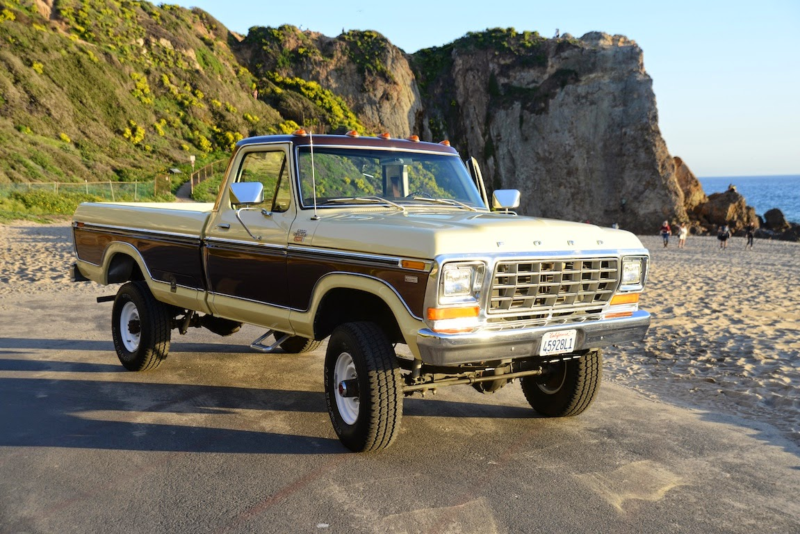 all american classic cars 1978 ford f 250 ranger camper special pickup truck. Black Bedroom Furniture Sets. Home Design Ideas