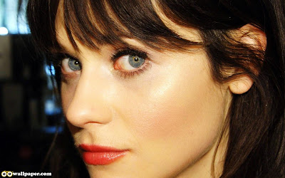 Zooey Deschanel  Eyes Wallpaper