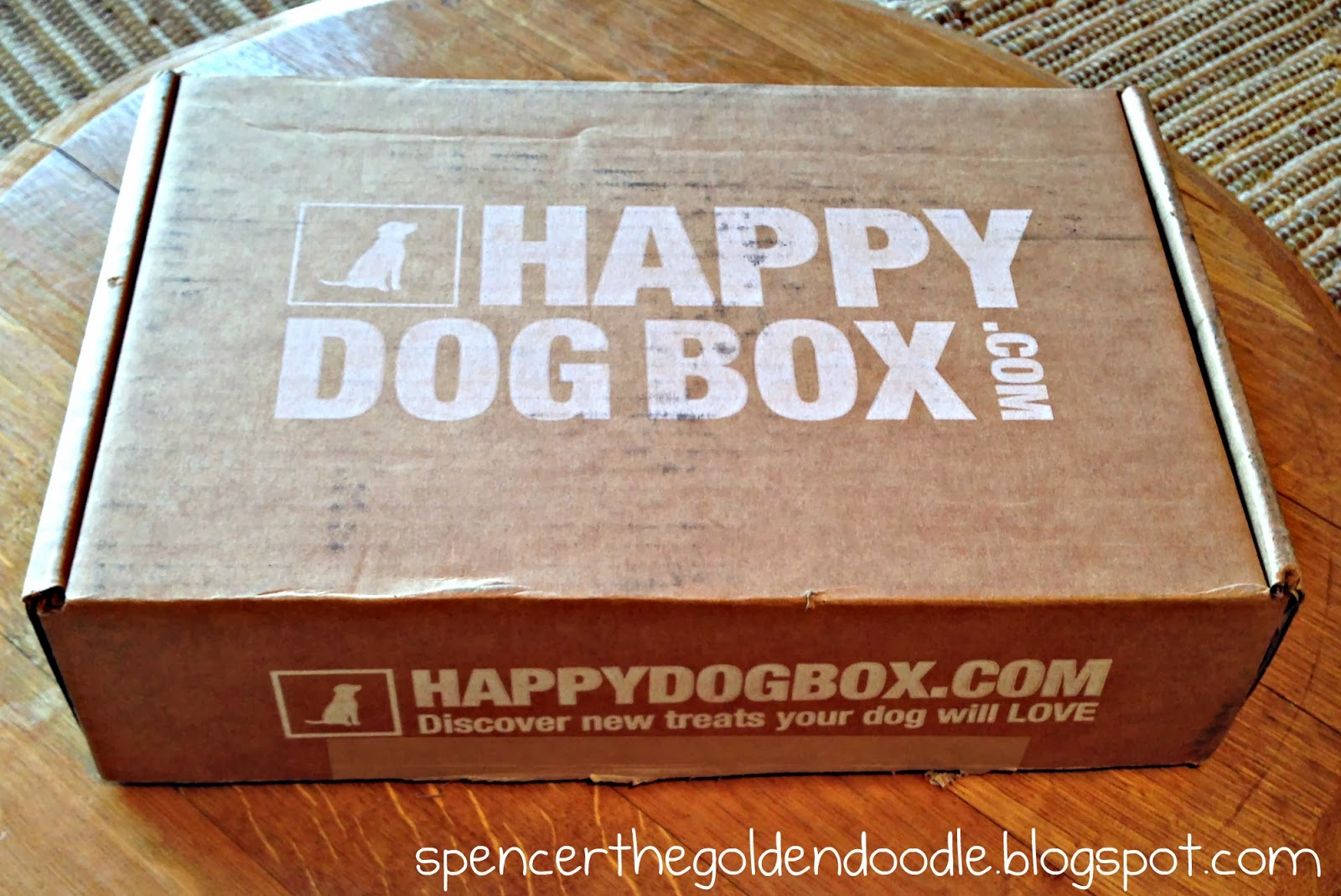 Spencer The Goldendoodle Happy Dog Box