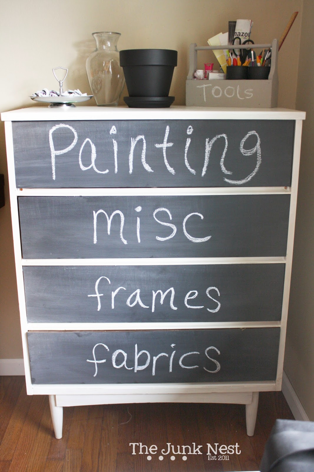 Craft Room Storage Dresser