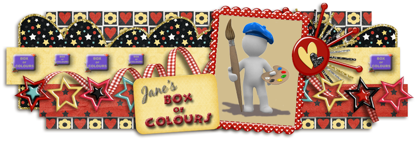 Jane's Box of Colours