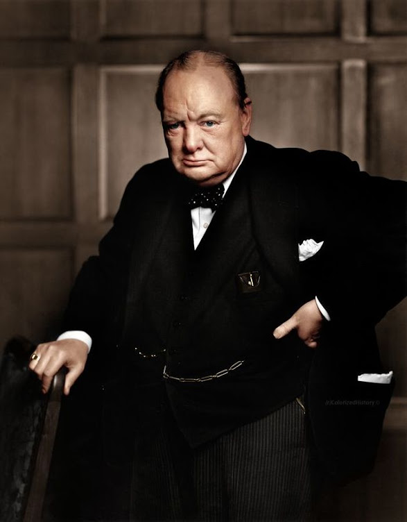 Winston Churchill 1941.