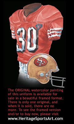 San Francisco 49ers 1994 uniform