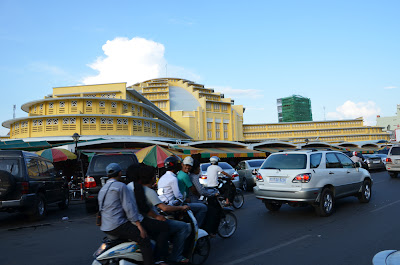 Phsar Thmey, Central Market, Phnom Penh Cambodia