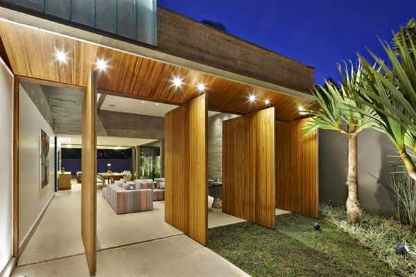 Brazilian outdoor living house plan boasts an amazing Outdoor living floor plans
