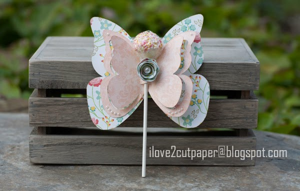 Butterflies, Party Favor, Butterfly pops