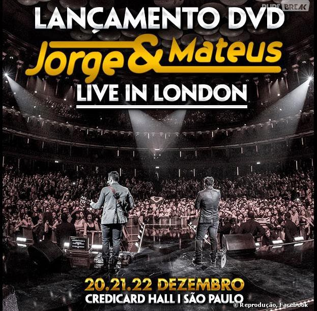JORGE & MATEUS – LIVE IN LONDON