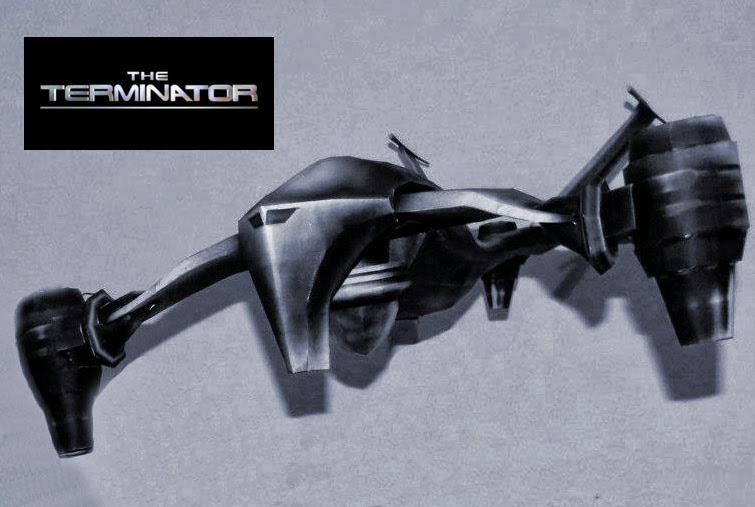 Hunter-Killer Aerial Papercraft